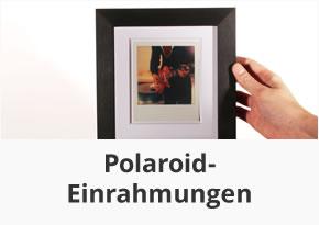Polaroid Einrahmungen